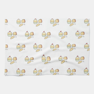 Cute Snacks - Tea Towel