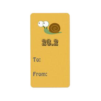 Cute Snail 26.2 (marathon)