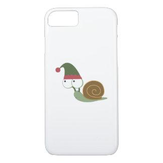 Cute Snail Christmas Elf iPhone 7 Case