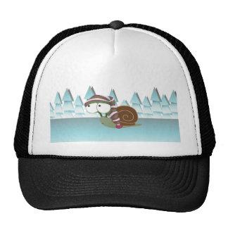 Cute Snail in Sleeping Cap Hats