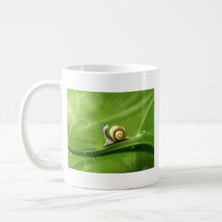 Cute Snail in the Rain Coffee Mug