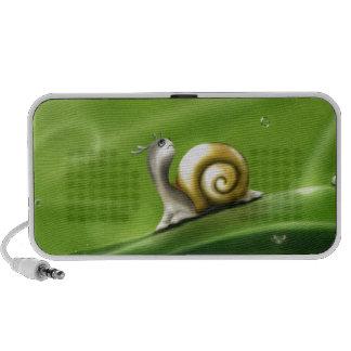 Cute Snail in the Rain Speaker System