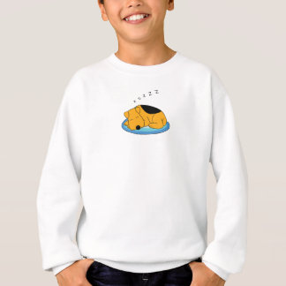 Cute Snoring Airedale Terrier Puppy Dog Sweatshirt