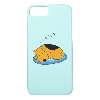 Cute Snoring Terrier Barely There iPhone  8/7 Case
