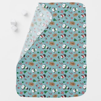 Cute Snow Pals baby blanket