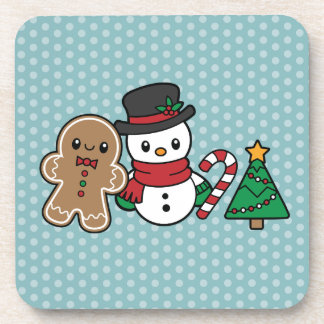 Cute Snow Pals coasters