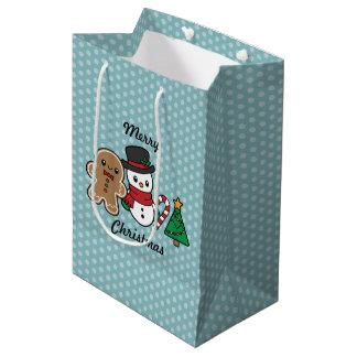 Cute Snow Pals gift bag