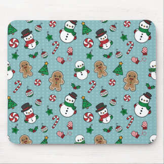 Cute Snow Pals mousepad