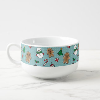 Cute Snow Pals soup mug