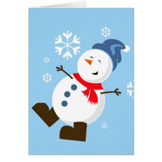 Cute Snowman Card