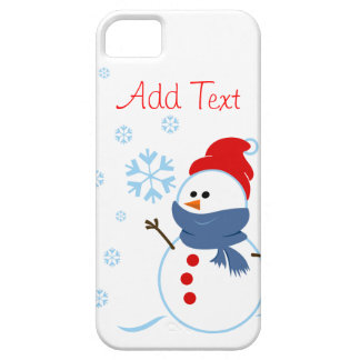 Cute Snowman Design Case For The iPhone 5