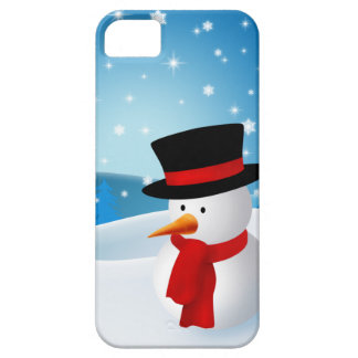 Cute Snowman iPhone 5 Cover