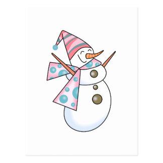 Cute Snowman Postcards