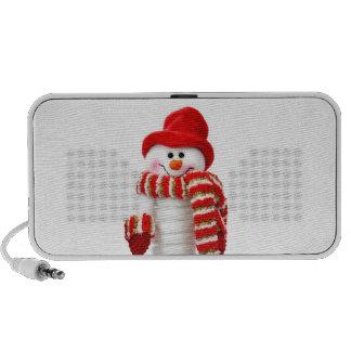 Cute Snowman Travelling Speakers