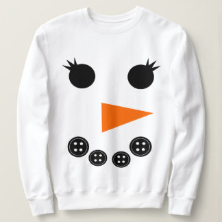 Cute Snowman Sweatshirt