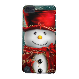 Cute snowmans - snowman illustration iPod touch (5th generation) case