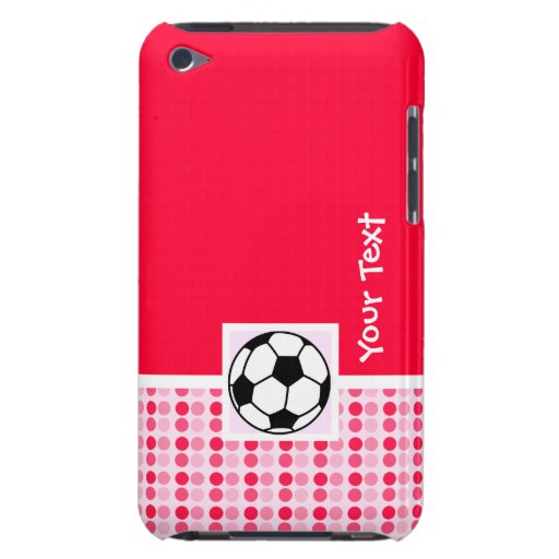 Cute Soccer Ball Barely There iPod Cover