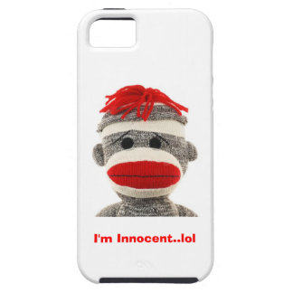 CUTE Sock Monkey  I Phone 5 case Case For The iPhone 5