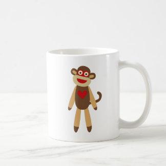 Cute Sock Monkey Coffee Mug