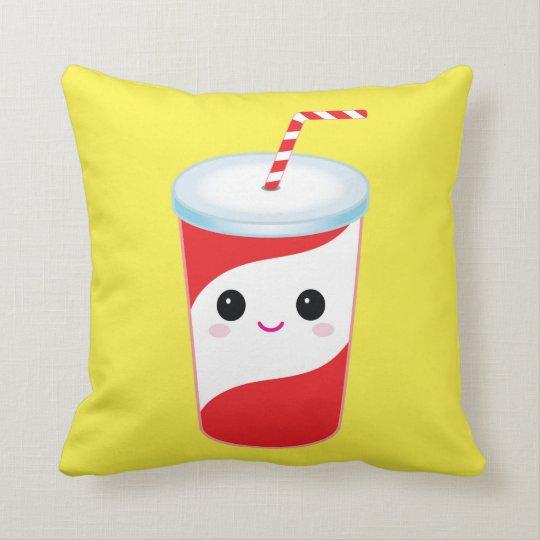 Cute Sods Throw Pillow-Decorative Food Pillow