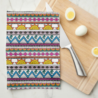 Cute Southwestern Stripe Kitchen Towels