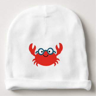 Cute Specky Crab Illustration Baby Beanie
