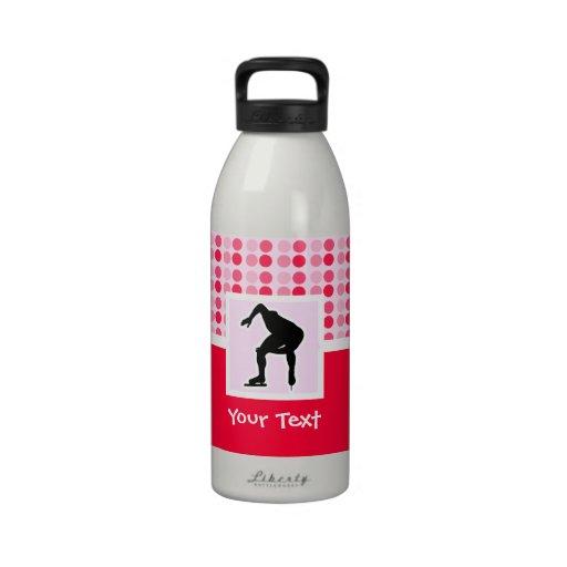 Cute Speed Skater Reusable Water Bottle