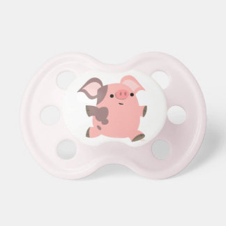 Cute Sporty Cartoon Pig Baby Pacifier