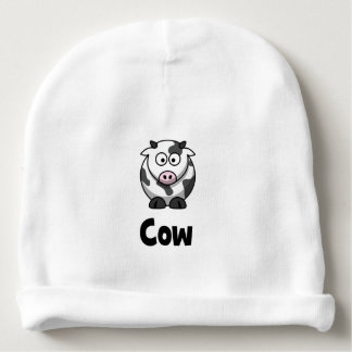 Cute Spotted Cow Baby Beanie