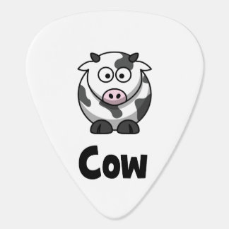 Cute Spotted Cow Guitar Pick