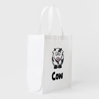 Cute Spotted Cow Market Totes