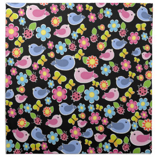 Cute spring pattern napkin