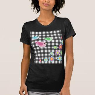 Cute spring plaid pattern T-Shirt