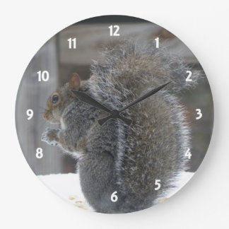 Cute Squirrel Clock