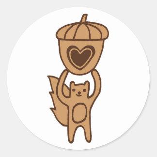 Cute Squirrel stickers