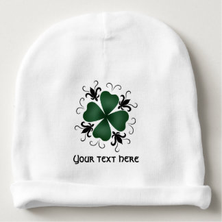 Cute St Patricks Day for baby Baby Beanie