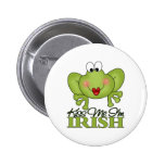 Cute St. Patrick's Day Gift Pinback Buttons