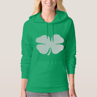 Cute St Patricks Day hoodie for women | Shamrock