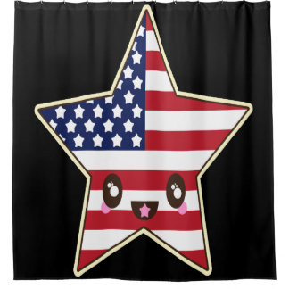 Cute Star Shaped U.S.A. Flag - American Star