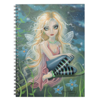 Cute Starlight Fairy Fantasy Art Notebook