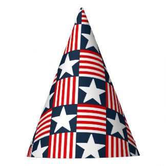 Cute stars and stripes party hat
