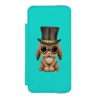 Cute Steampunk Baby Bunny Rabbit Incipio Watson™ iPhone 5 Wallet Case