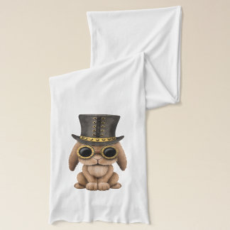 Cute Steampunk Baby Bunny Rabbit Scarf