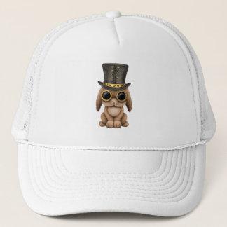 Cute Steampunk Baby Bunny Rabbit Trucker Hat