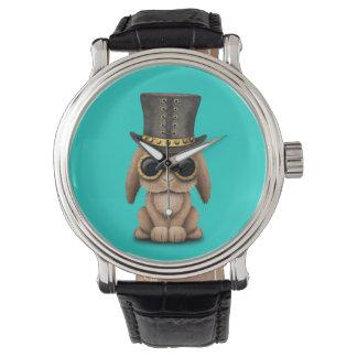 Cute Steampunk Baby Bunny Rabbit Watch
