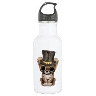Cute Steampunk Baby Cheetah Cub 532 Ml Water Bottle