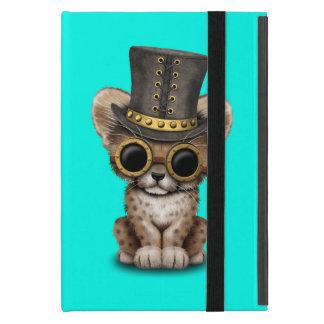 Cute Steampunk Baby Cheetah Cub Cover For iPad Mini