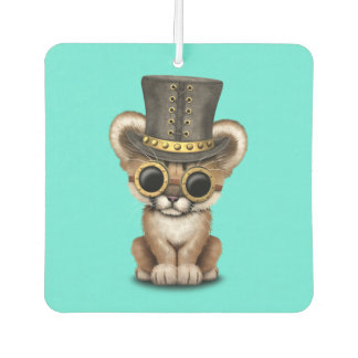 Cute Steampunk Baby Cougar Cub Air Freshener