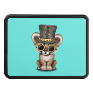 Cute Steampunk Baby Cougar Cub Tow Hitch Covers