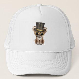 Cute Steampunk Baby Cougar Cub Trucker Hat